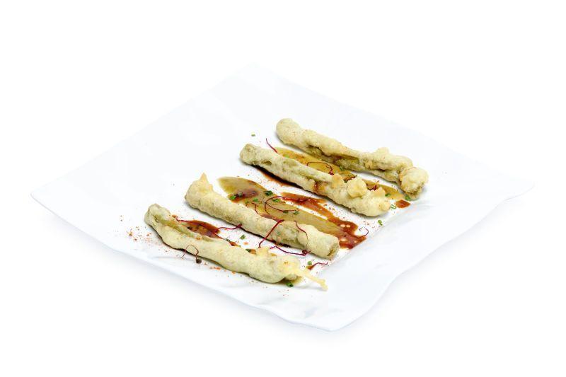 Trigueros en tempura