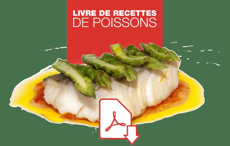 Livre de recettes de poissons