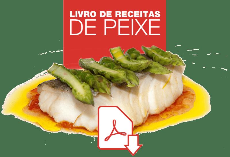 Livro de receitas de peixe